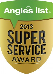 image of 2013 Angie's List Super Service Award