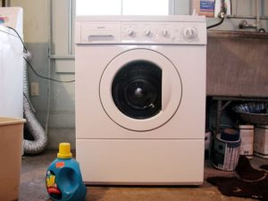 Clothes Washer in basement
